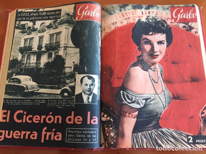 Coleccionismo de Revista Garbo: Tomo encuadernado revistas Garbo año 53/54 - Foto 12 - 146726170