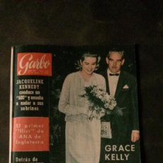 Coleccionismo de Revista Garbo: GRACE KELLY-CAROLINA DE MONACO-MISS ESCOCIA-FUENTES DE MONTJUIC BUIGAS-AUMONT-FIDEL CASTRO-1964. Lote 146770114