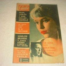 Coleccionismo de Revista Garbo: GARBO Nº 619 , ENERO DE 1965. EN PORTADA MIA FARROW Y FRANK SINATRA.. Lote 147495178
