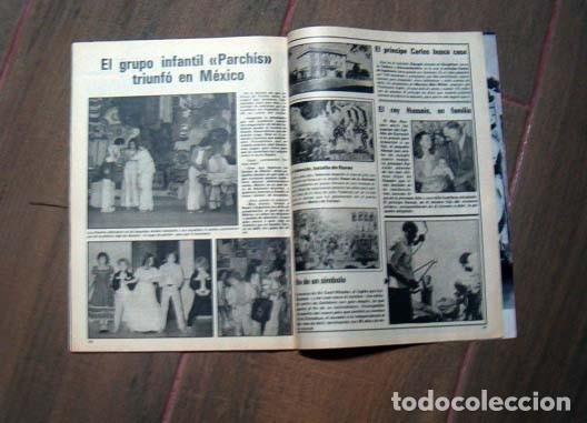 Coleccionismo de Revista Garbo: Garbo 1980 / MARISOL, PECOS, PARCHIS, MIGUEL BOSE, JULIO IGLESIAS, LOLA FLORES, LOLITA, ROCIO JURADO - Foto 3 - 145442058