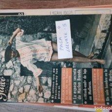 Coleccionismo de Revista Garbo: REVISTA GARBO 435 * JULIO 1961 * HEMINGWAY + FARUK DE RAINIERO + MARLON BRANDO + MARILYN * 54. Lote 150512702