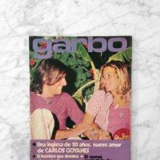 Coleccionismo de Revista Garbo: GARBO - 1972 - CARLOS GOYANES, IRA DE FURSTENBERG, ANNA BRETT, JOHN LENNON Y YOKO ONO, TONY ISBERT. Lote 151486894