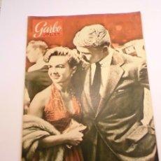 Coleccionismo de Revista Garbo: GARBO Nº 63 29 MAYO 1954 MONTJUICH ENTRE EL PASADO Y EL FUTURO - PORTADA DEBBIE REYNOLDS TAB HUNTER. Lote 151577574