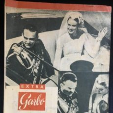 Coleccionismo de Revista Garbo: GARBO**REVISTA GARBO EXTRA 23 ABRIL 1956**UNA SEMANA EN MONACO GRACE KELLY Y RANIERO. Lote 151578238