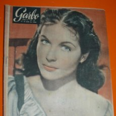 Coleccionismo de Revista Garbo: REVISTA GARBO. JULIO 1954. Nº 72. IVANNE FOURNEAUX. LIONELLO NATOLI. TIMOTHY O'CONNOR. Lote 151578754