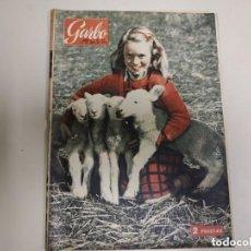 Coleccionismo de Revista Garbo: REVISTA GARBO ABRIL 1954 Nº57. Lote 151579138