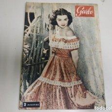 Coleccionismo de Revista Garbo: REVISTA GERBO MARZO 1954 Nº53. PORTADA BARBARA RUSH. Lote 151579406