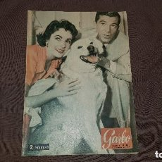Coleccionismo de Revista Garbo: REVISTA GARBO. NOVIEMBRE 1954. PORTADA ELIZABETH TAYLOR Y DANA ANDREWS. Lote 151579626