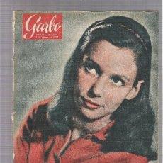 Coleccionismo de Revista Garbo: REVISTA GARBO 31 MARZO 1956 Nº 159 AÑO I PORTADA SUSAN STRASBERG. Lote 151580282