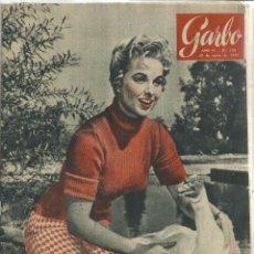 Coleccionismo de Revista Garbo: REVISTA GARBO. ENERO. 1956. Nº 150. BALDUINO DE BÉLGICA. INGRID BERGMAN. Lote 151580538