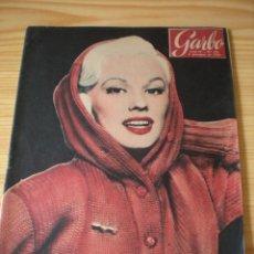 Coleccionismo de Revista Garbo: REVISTA GARBO Nº 195. 08 DICIEMBRE 1956. PORTADA MAMIE VAN DOREN. Lote 151580766