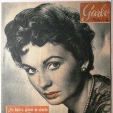 Coleccionismo de Revista Garbo: GARBO - REVISTA Nº 181 - AÑO 1956. PORTADA JEAN SIMMONS. Lote 151580954