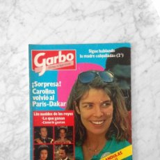 Coleccionismo de Revista Garbo: GARBO - 1985 CAROLINA, JULIO IGLESIAS, BRIGITTE BARDOT, ISABEL PANTOJA, BRITT EKLAND, KELLY LEBROCK. Lote 151712498