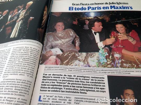 Coleccionismo de Revista Garbo: GARBO - 1985 CAROLINA, JULIO IGLESIAS, BRIGITTE BARDOT, ISABEL PANTOJA, BRITT EKLAND, KELLY LEBROCK - Foto 3 - 151712498