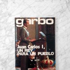 Coleccionismo de Revista Garbo: GARBO - 1975 - JUAN CARLOS I, TONY RONALD, VICTORIA VERA, MOCHI, CECILIA, JUAN RIBO, IZASKUN. Lote 151850338