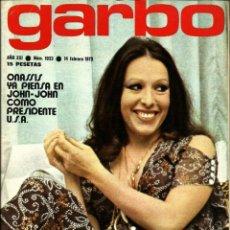 Coleccionismo de Revista Garbo: REVISTA GARBO N 1033 MASSIEL, FRANCOISE HARDY, GLORIA HENDRY, JANE SEYMOUR, PERLA CRISTAL, FARH DIBA. Lote 153071610