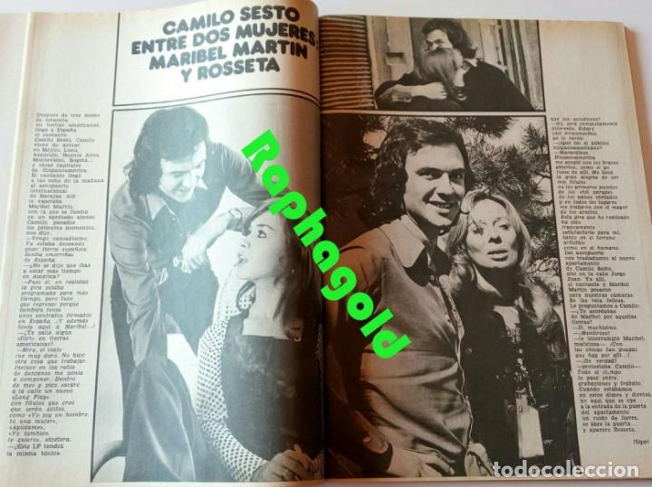 Coleccionismo de Revista Garbo: GARBO nº 1047 Camilo Sesto Maribel Martín Lex Barker Carmen Cervera Bette Davis Rosemarie Dexter - Foto 3 - 209340743