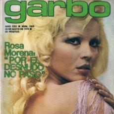 Coleccionismo de Revista Garbo: REVISTA GARBO Nº 1099 ROSA MORENA, MARISOL, SANDRA MOZAROVSKY, CARMEN SEVILLA, RAQUEL WELCH. Lote 154520886