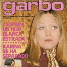 Coleccionismo de Revista Garbo: GARBO Nº 1129 BLANCA ESTRADA KARINA ORNELLA MUTI NADIUSKA CHARO LOPEZ MANOLO ECOBAR ESPERANZA ROY. Lote 155204506