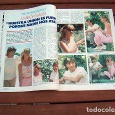 Coleccionismo de Revista Garbo: GARBO 1980 / MARISOL & ANTONIO GADES, ANA BELEN, JULIO IGLESIAS, RICHARD JORDAN, DAVID CARRADINE. Lote 154841522