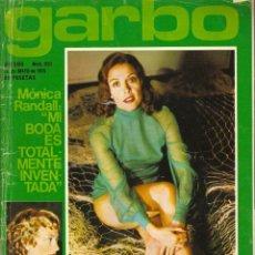 Colecionismo da Revista Garbo: GARBO Nº 1152 MÓNICA RANDALL SUSANA ESTRADA MARISOL CARMEN LOLA FLORES VERÓNICA FORQUÉ SOPHIA LOREN. Lote 155447034