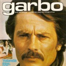 Coleccionismo de Revista Garbo: REVISTA GARBO Nº 1156 ALAIN DELON MIREILLE DARC YOLANDA RIOS SILVIA KRISTEL MARI TRINI JANE BIRKIN. Lote 155448074