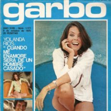 Coleccionismo de Revista Garbo: REVISTA GARBO 1171 PATTY SHEPARD SANCHO GRACIA YOLANDA RIOS LA POCHA CLAUDIA GRAVY PILAR VELAZQUEZ. Lote 155457290
