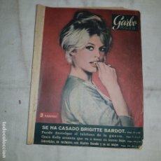 Coleccionismo de Revista Garbo: GARBO Nº 328 . 1959 . SE HA CASADO BRIGITTE BARDOT. . Lote 155507222