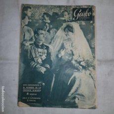 Coleccionismo de Revista Garbo: GARBO Nº354 . SUPLEMENTO LA BODA DEL SHA ..... Lote 155509182