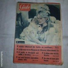 Coleccionismo de Revista Garbo: GARBO Nº 358 . 1960 VICTOR MANUEL SE CONFIESA.... Lote 155510066