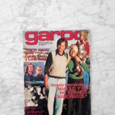 Coleccionismo de Revista Garbo: GARBO - 1974 - MARISOL Y ANTONIO GADES, CAMILO SESTO, ZEUDI ARAYA, MASSIEL, PAUL MCCARTNEY, R. STARR. Lote 155899170