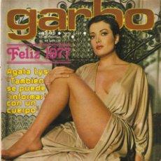 Coleccionismo de Revista Garbo: REVISTA GARBO Nº 1235 AGATA LYS MARISOL JULIO IGLESIAS MARLON BRANDO ESPARTACO SANTONI MANOLO OTERO. Lote 173527935
