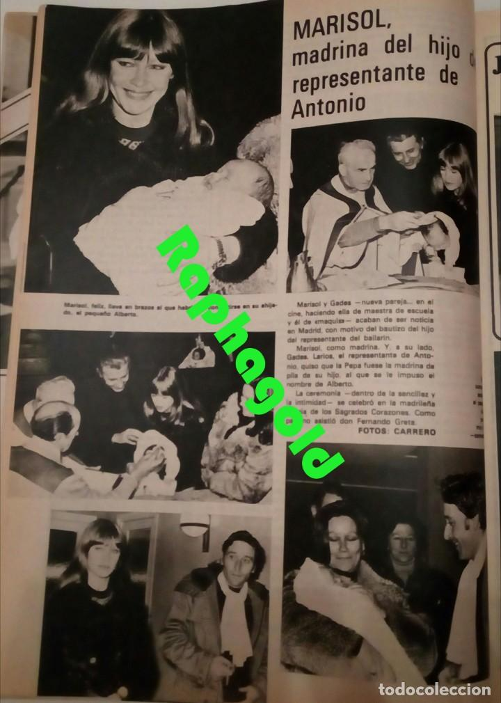 Coleccionismo de Revista Garbo: Revista Garbo nº 1235 Agata Lys Marisol Julio Iglesias Marlon Brando Espartaco Santoni Manolo Otero - Foto 3 - 173527935
