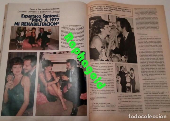 Coleccionismo de Revista Garbo: Revista Garbo nº 1235 Agata Lys Marisol Julio Iglesias Marlon Brando Espartaco Santoni Manolo Otero - Foto 6 - 173527935