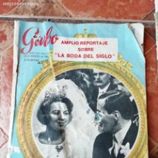Coleccionismo de Revista Garbo: ANTIGUA REVISTA GARBO NUMERO 680 10 MARZO 1966 BODA BEATRIZ HOLANDA-EUROVISION-PAPA JUAN PABLO XXIII. Lote 158823350
