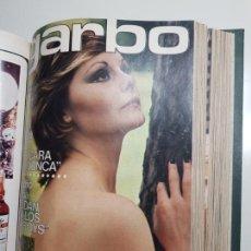 Colecionismo da Revista Garbo: REVISTA GARBO ENCUADERNADA EN UN TOMO AÑOS 1973-1974. Lote 158856858