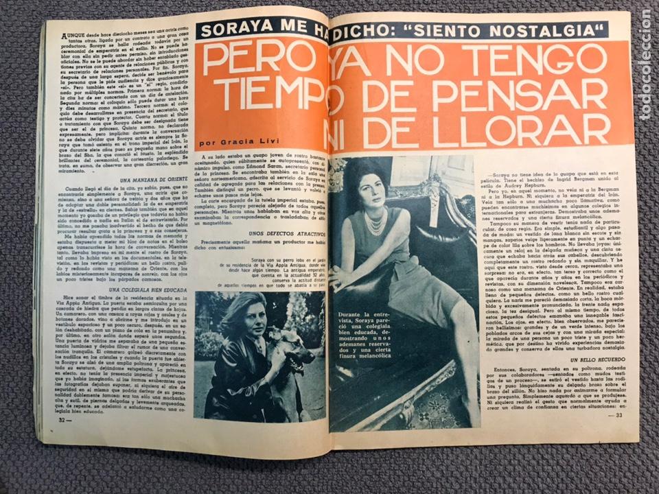 Coleccionismo de Revista Garbo: GARBO. Revista de Sociedad, No 611 Soraya ya no... (a.1964) - Foto 2 - 159731364