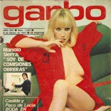 Coleccionismo de Revista Garbo: REVISTA GARBO Nº 1241 EVA ROBIN CAROLINA DE MONACO SIMONETA STEFANELLI GLORIA ESTRADA PACO DE LUCIA. Lote 159939610