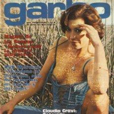 Colecionismo da Revista Garbo: GARBO 1251 CLAUDIA GRAVI SUSANA ESTRADA BÁRBARA REY PERLA CRISTAL PALOMA SAN BASILIO DIDI SHERMAN. Lote 159946070