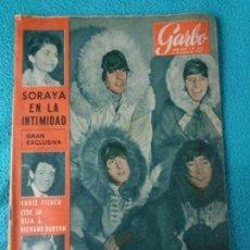 Coleccionismo de Revista Garbo: GARBO REVISTA 1965 PRESENTAMOS A LAS FAMILIAS DE LOS BEATLES. Lote 160708606