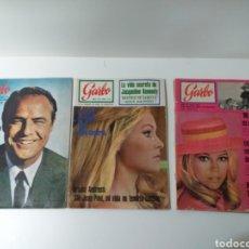 Coleccionismo de Revista Garbo: LOTE DE 3 REVISTAS GARBO. Lote 160821084