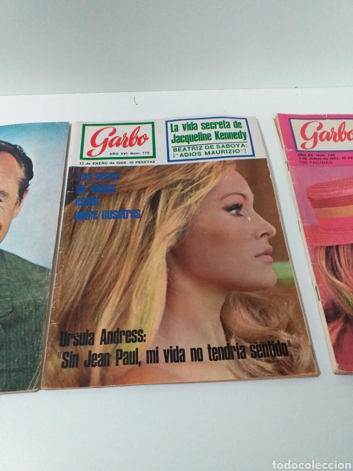 Coleccionismo de Revista Garbo: lote de 3 revistas Garbo - Foto 3 - 160821084