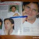 Coleccionismo de Revista Garbo: RECORTE : SALAMANDRA, LA VUELTA DE MIGUEL BOSÉ. GARBO, MAYO, 1986 (). Lote 161346570