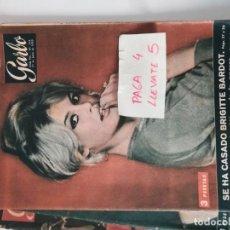 Coleccionismo de Revista Garbo: REVISTA GARBO 328 * 27 JUNIO 1959 * BRIGITTE BARDOT + GRACE KELLY + MARLON BRANDO * 64. Lote 162915202