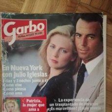 Coleccionismo de Revista Garbo: GARBO 1984 - JULIO IGLESIAS, JESÚS HERMIDA, CAROLINA MONACO, LUCÍA DOMINGUIN. Lote 164824234