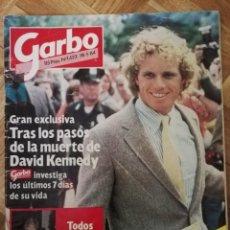 Coleccionismo de Revista Garbo: GARBO 1984 - DAVID KENNEDY, LADY DI, ALBERTO MONACO, FESTIVAL CANNES . Lote 164824590
