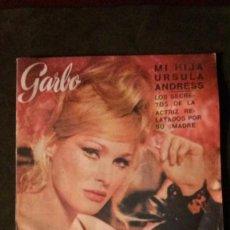Coleccionismo de Revista Garbo: GARBO Nº 681-1966-URSULA ANDRESS-GRACE KELLY. Lote 167747792