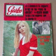 Coleccionismo de Revista Garbo: MARY HOPKIN PAUL MC CARTNEY BEATLES - BRIGITTE BARDOT - TWIGGY ... GARBO Nº 804 -- AGOSTO 1968. Lote 168043236