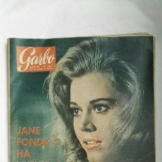 Coleccionismo de Revista Garbo: REVISTA GARBO N 576 MARZO 1964 JANE FONDA. Lote 168177714