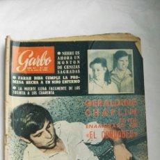 Coleccionismo de Revista Garbo: REVISTA GARBO N 587 JUNIO 1964 EL CORDOBÉS GERALDINE CHAPLIN. Lote 168187152